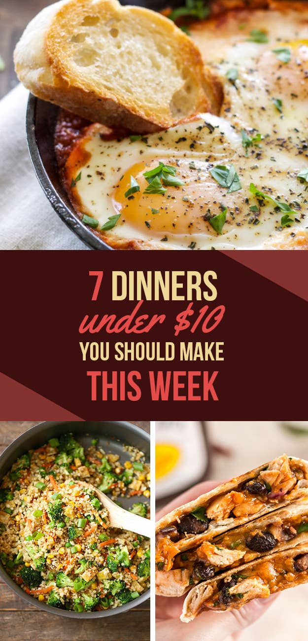 7 cheap and easy dinners you should make this week share on facebook share forumfinder Choice Image