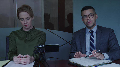 But maybe the best surprise casting is Wilson Cruz, who shows up to play the Baker's lawyer Dennis Vasquez.
