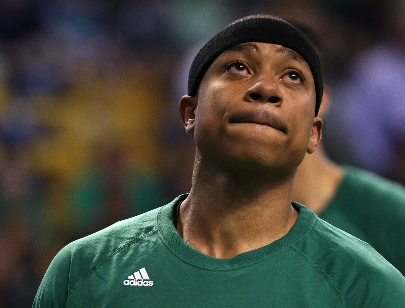 The Boston Celtics point guard held is head high as he made the difficult, yet courageous, decision to play in Game 1 of the NBA playoffs on Easter Sunday.