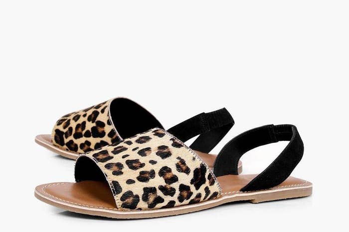 f64df4695965 23. Peeptoe sandals for any foot that considers itself a ferocious feline  who shouldn t be messed with.