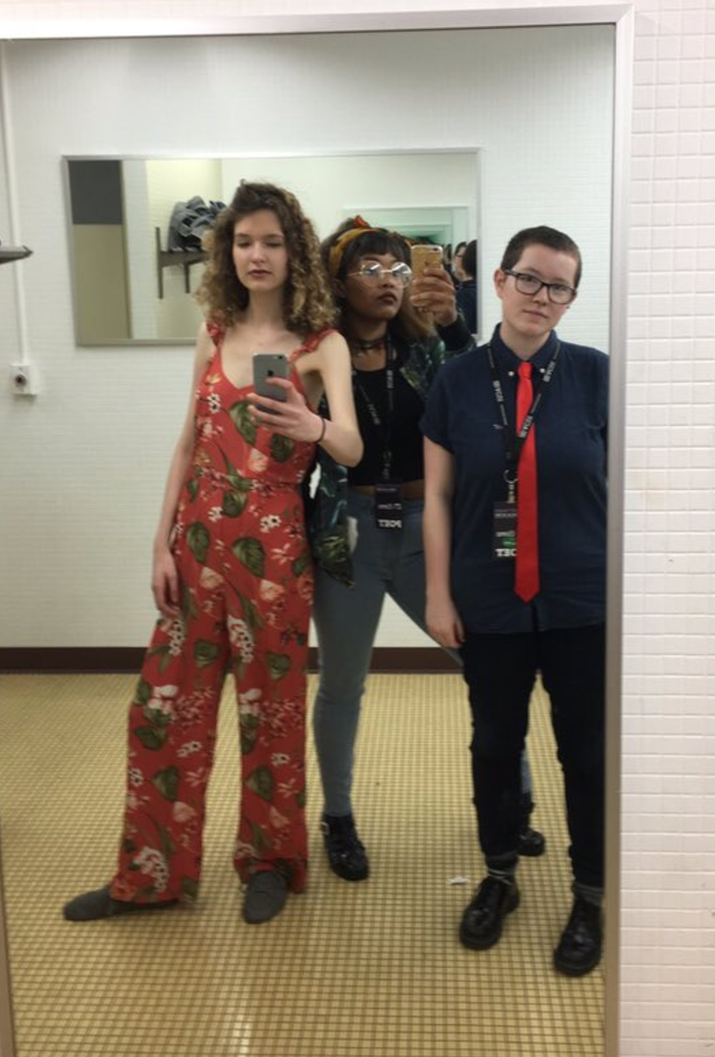 School Bathroom Selfies people think this student's tweet about gender-neutral bathrooms