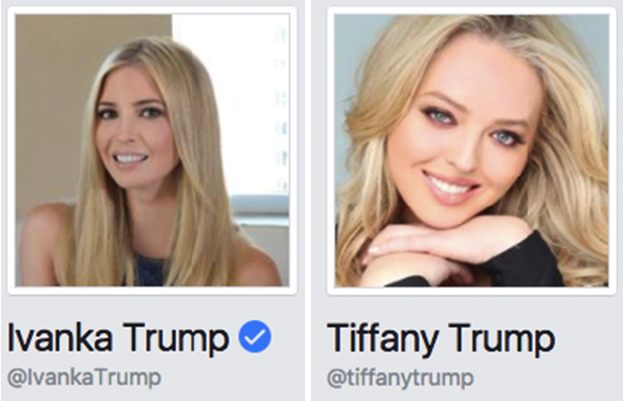 Image result for tiffany trump
