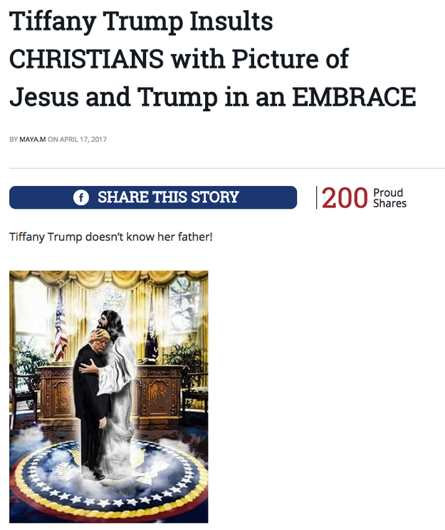 Since being published, the image has been shared over 11,000 times on Facebook and even got an angry post from Democraticmom.com.