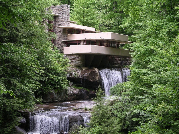 In case you didn't already know, Frank Lloyd Wright is basically the most famous American architect.