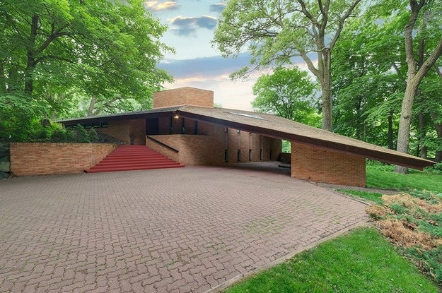 And now, one of his homes can be yours, in all its '60s glory!!!!!*