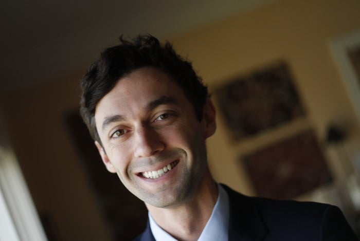 The Democratic candidate for Georgia's 6th Congressional District, Jon Ossoff