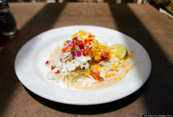 The Taco Tuesday Deal: $4 House Margaritas (3 - 6pm)$1.25 Street Tacos$2 Shrimp TacosThe Cinco de Mayo Deal: Live música, roasted street corn, ceviche w/ fresh avo, mexican beers on draft, AND sangria all makes for a great time and have been promised in the past… we're stoked to see what will be offered this year!The main hub for college kids on a Tuesday evening, Fat Fish never fails to appeal to both our stomachs and near-empty wallets. Located beachside, this dive bar is a must-visit for those ballin' on a budget.