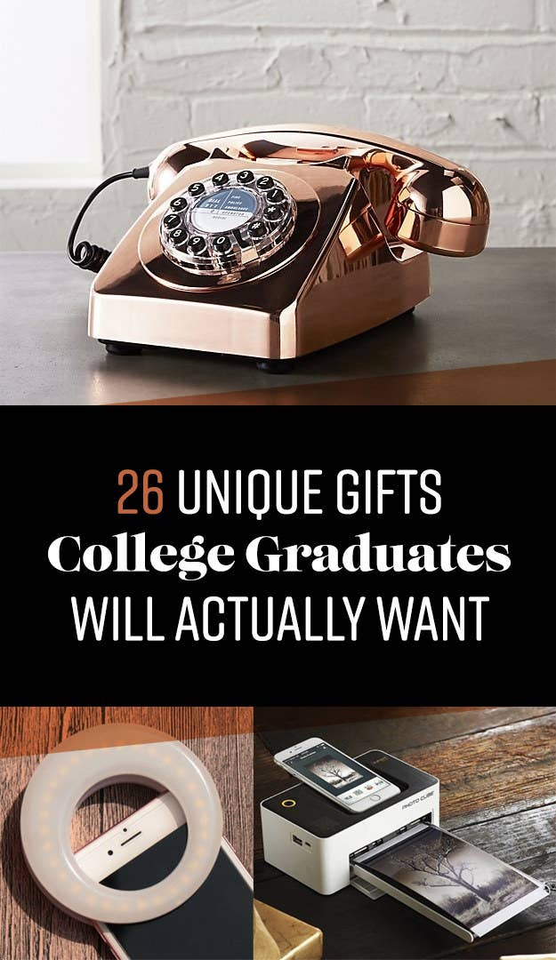 26 useful gifts college grads will actually want share on facebook share solutioingenieria Images