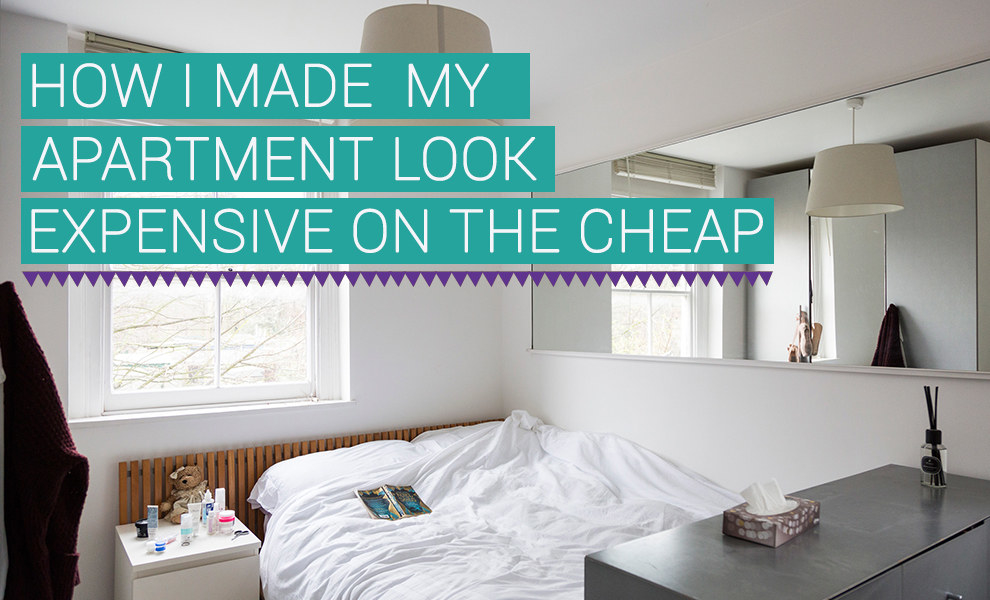Share On Facebook Share ... & I Tried To Make My Apartment Look More Expensive On The Cheap