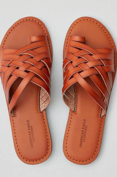 ec8e214135d8 Woven sandals for anyone whose big toe requires constant comfort and  attention. ae.com