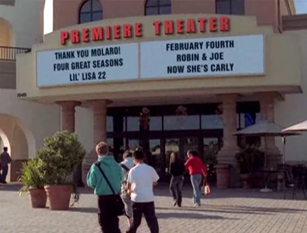 Well, in the last-ever episode of Drake and Josh, there was a hidden message on the outside of the theater: