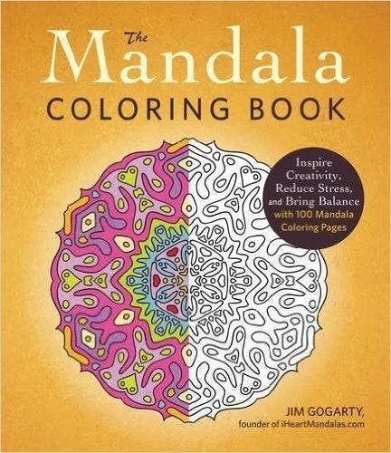 Inspire Creativity Reduce Stress And Bring Balance With 100 Mandala Coloring Pages