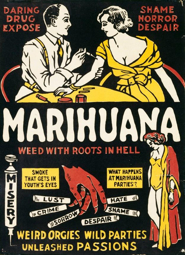 "The term ""marijuana"" has prettttty racist origins."