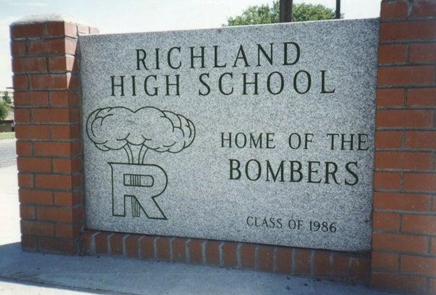 The Bombers (Richland High School, Richland, Washington)