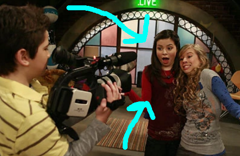 And they're referencing Carly of iCarly, which debuted the same month Drake and Josh ended — in September 2007.