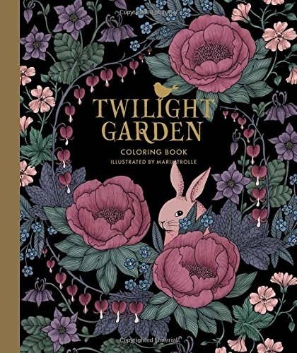 A Swedish Coloring Book With Thick Paper Thatll Transport You Straight To Garden On Midsummer Evening
