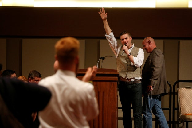 A man is suing Auburn University to allow white nationalist Richard Spencer to speak on Tuesday night after the university canceled his event over safety concerns.