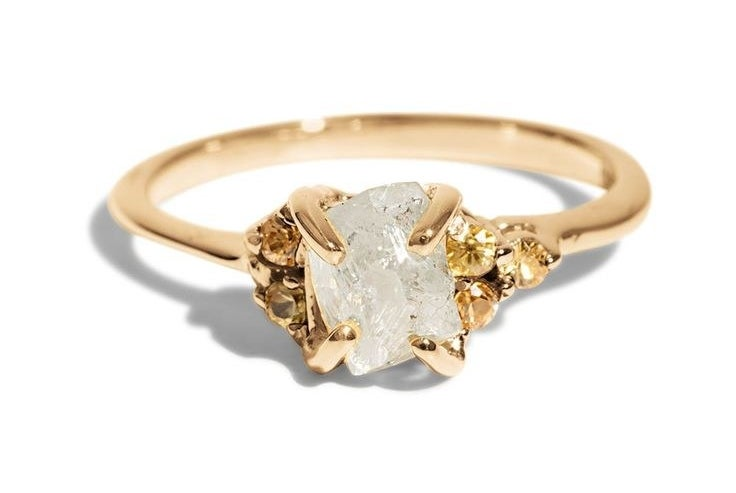 "28 Delicate Engagement Rings That ll Make You Say ""I Do """
