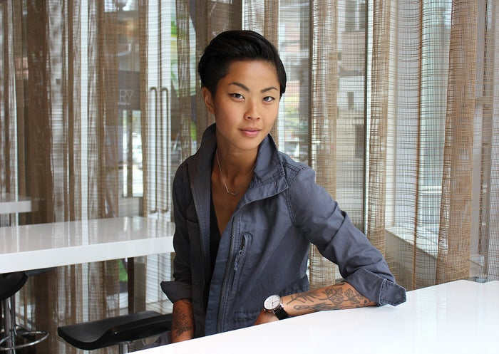"Job: cook, author of Kristen Kish Cooking: Recipes and TechniquesLocation: constant traveler What is your favorite part of your job? My job has a lot of moving parts and it is hard to pick just one. The common theme I can thread through all of my ""jobs"" is meeting and connecting with new faces. Whether I'm cooking, traveling, taking meetings, attending TV appearances, or trying new restaurants, I always love meeting the people I cross paths with. What is the hardest part of your job? I still have a hard time letting go of expectations from outside factors and ones I place on myself. ""Hard"" is relative, but if I step back and look at my work as a whole, I can't help but be grateful. Challenging moments happen every day, but having a firm grasp on being open to risk, growth, and having a controlled sense of disorder and uncertainty help out. Working hard, remaining grateful, and cultivating a life that works for me is a lot to manage, but it's really all about perspective."