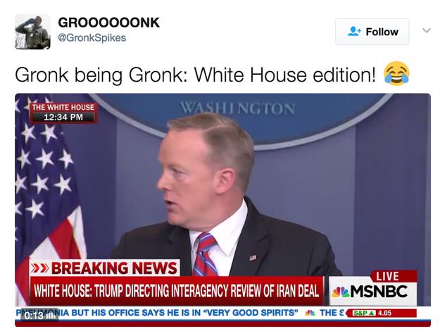 "People were like, ""GRONK!!!!"""
