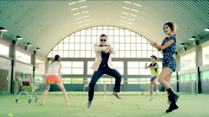"Memorable lyrics: ""Oppa Gangnam Style"""