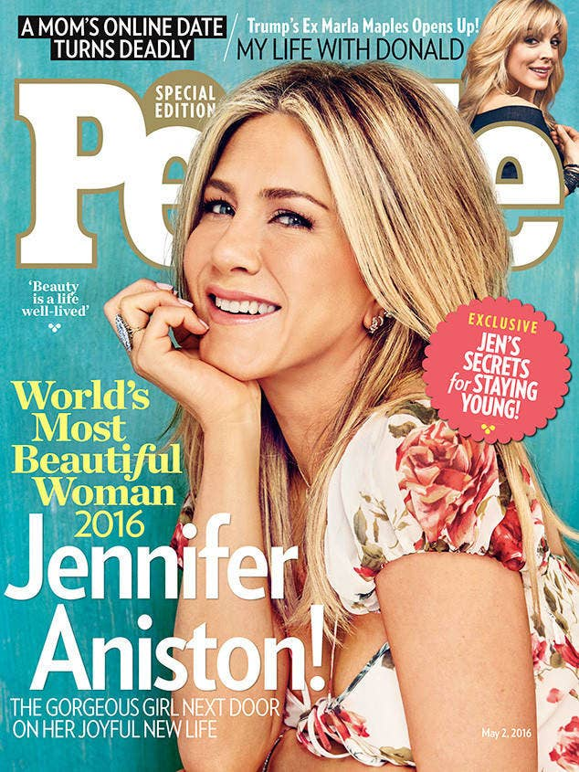 People magazine: the authoritative source on all things people.