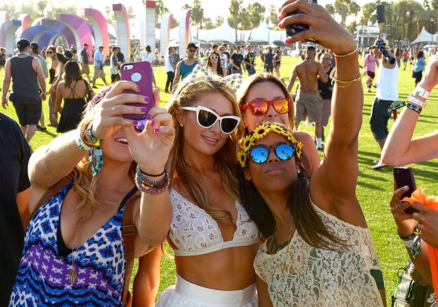It should be noted: It's not like Paris Hilton became a Coachella legend overnight. That took time, cat ears, flower crowns, thousands of dollars, 27 pairs of white sunglasses, and 700 flowy dresses.