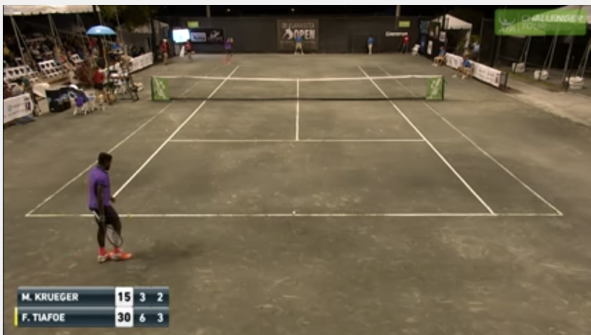 Some Incredibly Loud Moaning Interrupted This Tennis Match -3856
