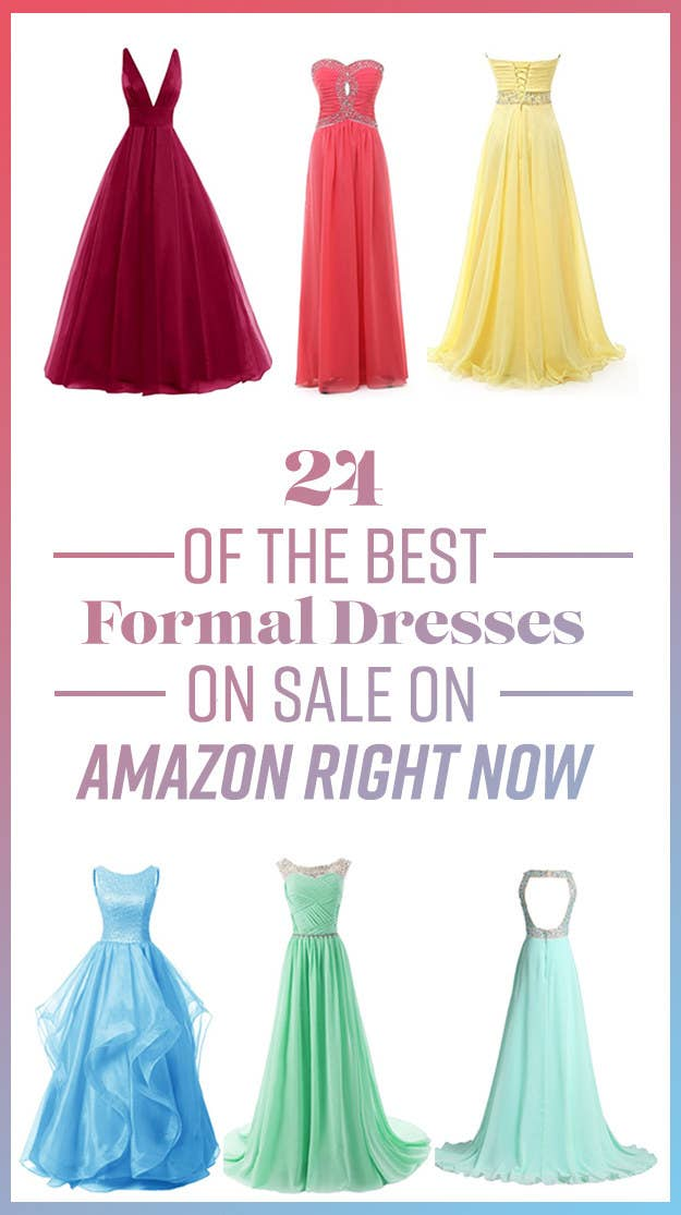 24 Of The Best Formal Dresses On Sale On Amazon Right Now