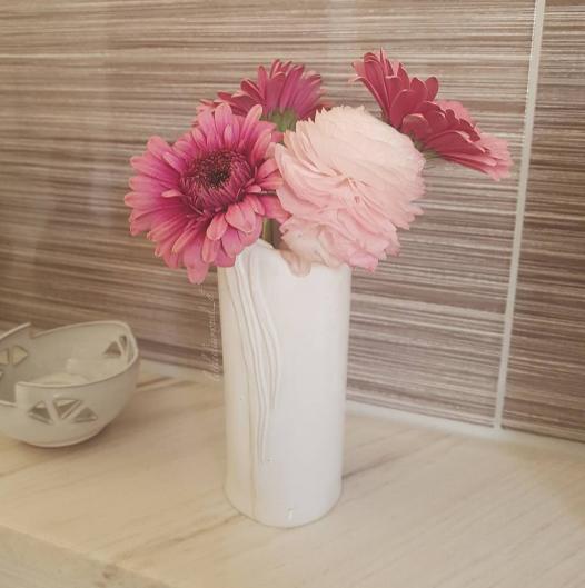 Fresh flowers also never hurt anybody.