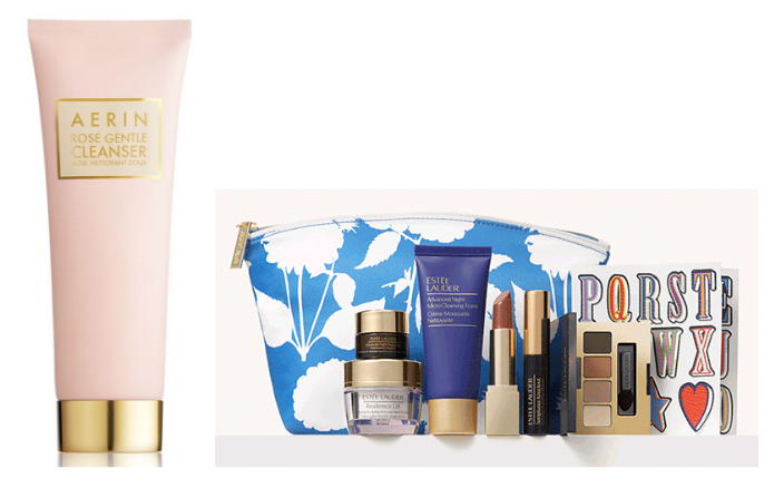 Get the rose cleanser here and see the 7-piece gift sets here.