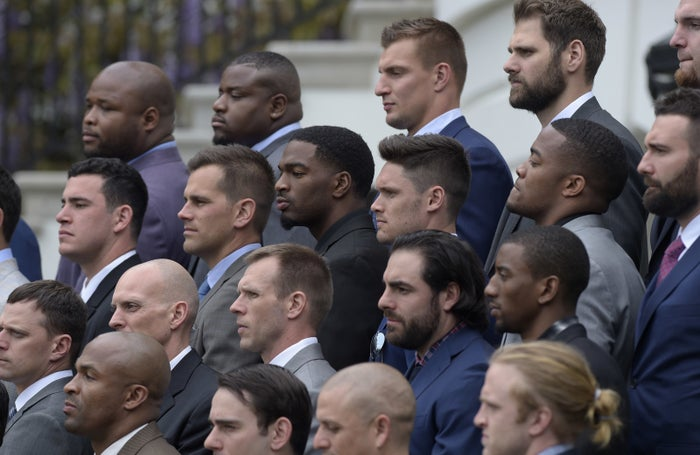 "Quarterback Tom Brady, a personal friend of the president, also didn't attend, but said he had unspecified ""family matters"" to attend to."