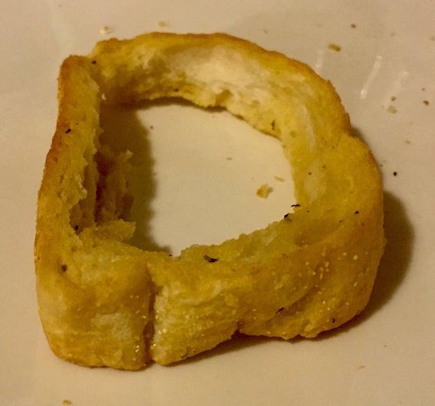 Não comer a crosta dos sanduíches.