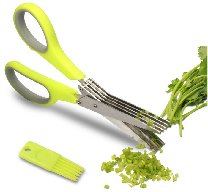 """Promising review: """"This little item is the greatest. I have used it several times to cut herbs and the little brush works great."""" --Miriam MatthewsGet them on Amazon for $9.99 (down from $19.99)."""