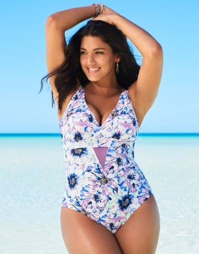 22699c0da42a9 A floral swimsuit known to challenge Miranda Priestly  florals are  groundbreaking