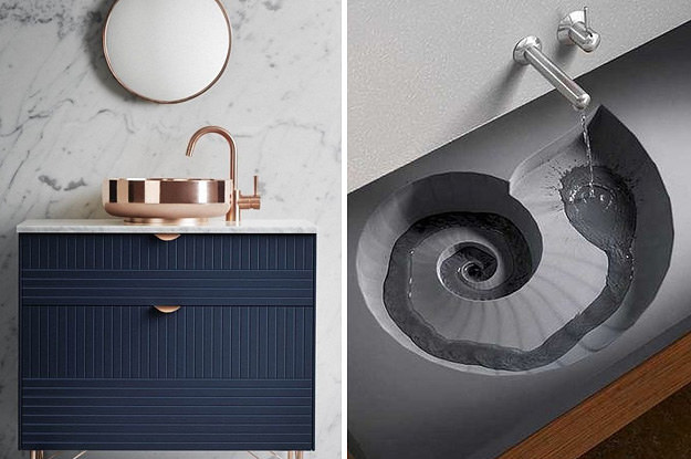 23 Insanely Gorgeous Sinks You're Going To See All Over Pinterest