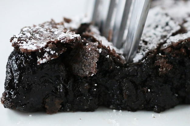 Swedish Sticky Chocolate Cake
