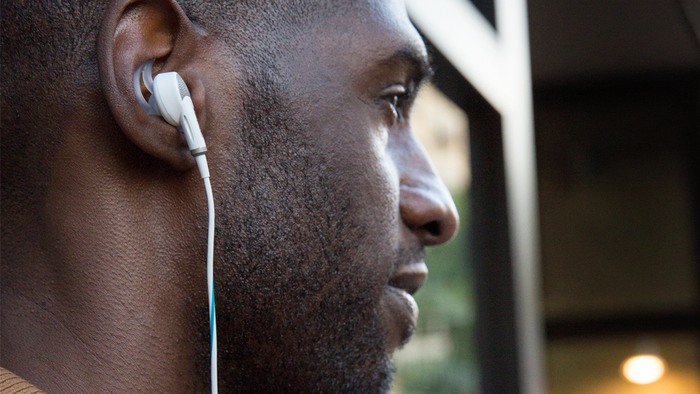 "Promising review: ""I need them to make the city go away sometimes. Incredibly, they do all of that and do it well (especially when used in conjunction with a white noise app). And unlike NC headphones, they are really comfortable to sleep in. Like I said, life changing."" —BookishEGet them from Amazon for $249 (available in two colors and for Android and iOS).And if you're looking for new headphones, check out our picks for the best wireless headphones for every budget on BuzzFeed Reviews."