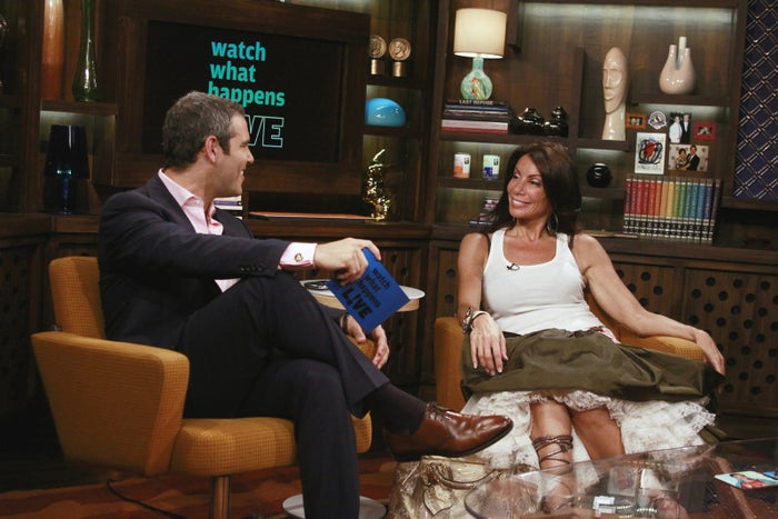 Danielle Staub on Watch What Happens Live's first episode.