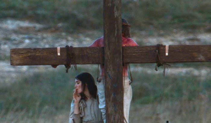 Heres A Photo Of Rooney Mara As Mary Magdalene Smoking A Cigarette