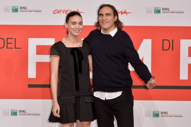 Rooney Mara and Joaquin Phoenix are currently working on a biopic about Mary Magdalene called, uh, Mary Magdalene. Information about the project is scarce, but we can probably assume the character list also includes Jesus of Nazareth (later known as Jesus Christ).