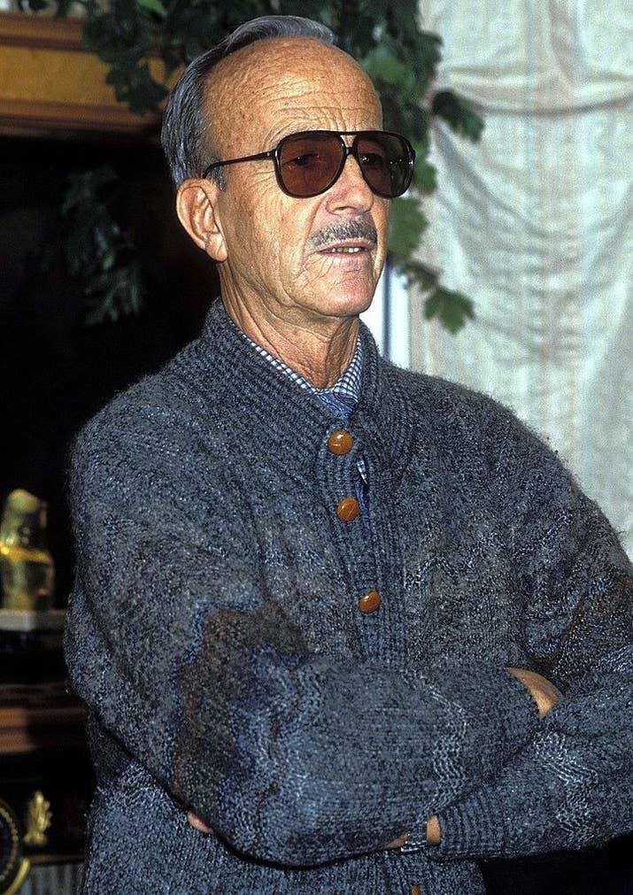 Julio Iglesias Puga, fotografiado en 1995.