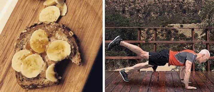 «Préparez-vous à vous pousser fort dans la salle de gym aujourd'hui? Ce petit-déjeuner est sûr de vous garder au maximum pour pousser plus fort, enlever plus et faire le ou les autres!