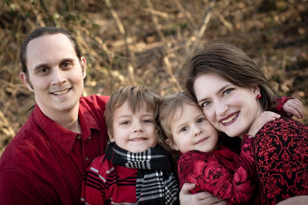 This is the Anderson family from Utah. Lori and Jeff are parents to 4-year-old Alice and 7-year-old Nathan. Lori told BuzzFeed News Nathan has a Windows 10 computer in his room that he plays all his video games on, but he has a strict curfew every night.