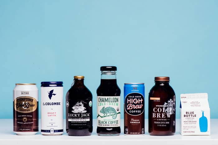 We Tried All Those Cold Brew Coffees You See At The Grocery