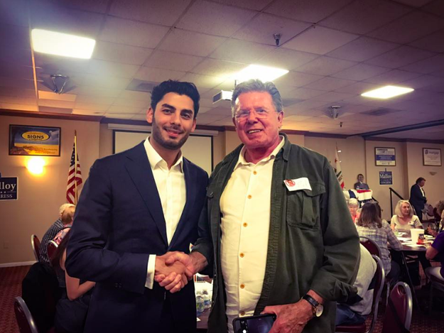 As far as why he chose to run for Congress, Campa-Najjar told BuzzFeed News that his main goal was to unite people, especially in today's political climate.