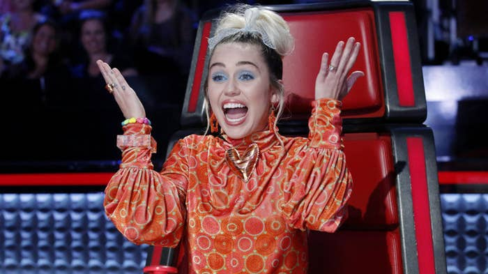 """I was admiring the tone of Miley Cyrus's voice,"" Gunn told BuzzFeed News of The Voice judge. ""I find her funny and likable and sweet. I liked that she cared about the contestants. So I was like, I think she would be a funny person to have as a voice [in Guardians of the Galaxy Vol. 2]. So we contacted her, and she said yes. She came in and recorded, and she was a delight to work with."""