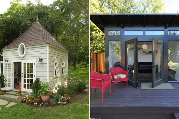 "19 Gorgeous ""She Sheds"" That You'll Want To Retreat To ASAP"