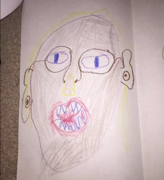 Fazer desenhos ruins e as pessoas o proclamarem como o novo Picasso.