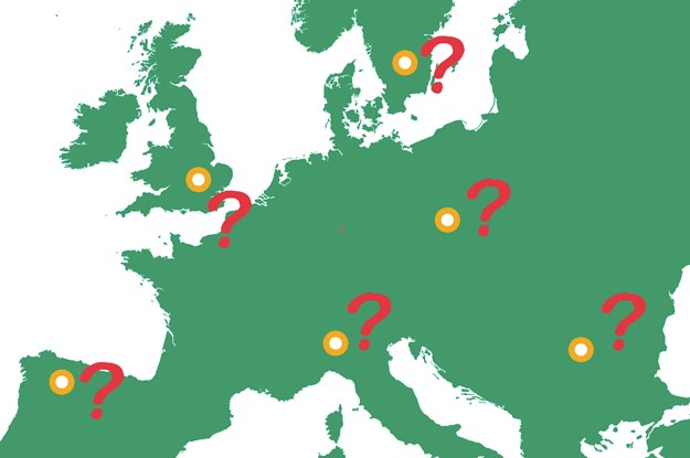 Can You Name The Countries Of Europe Without Borders